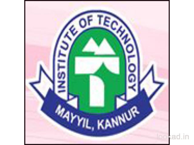 INSTITUTE OF TECHNOLOGY MAYYIL KANNUR Contact Phone Number