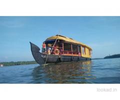 Boat House in Kasaragod Kerala with Day Cruise and Night Stay