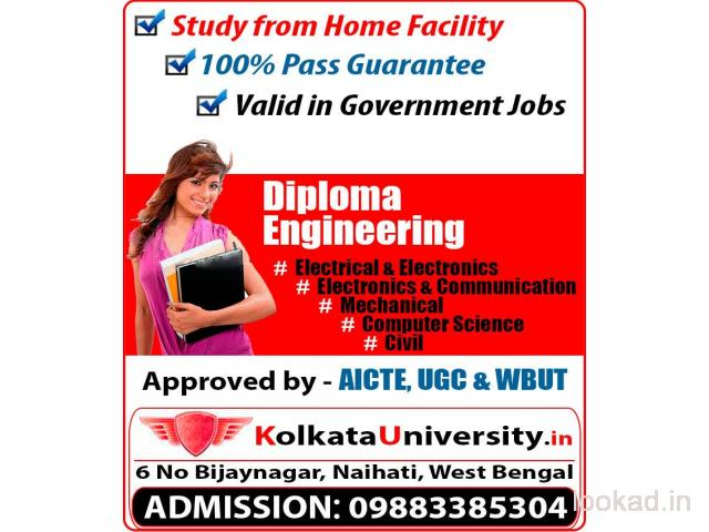 Get Diploma Engineering Online - KolkataUniversity.in