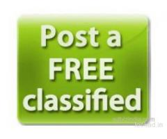 free classified advertising with 100% Free Listing
