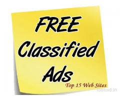 Advertising free website in India, no payment, no Registration and no expiry.