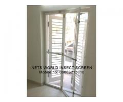 Aluminium Window Frame Mosquito Net Model