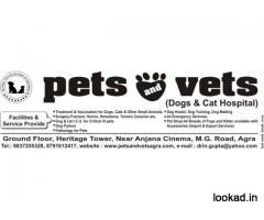 Pets and Vets Dog Hospital, MG road Agra