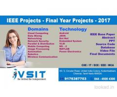 FINAL YEAR 2016-2017 PROJECTS ,IEEE PROJECTS,REAL TIME PROJECTS