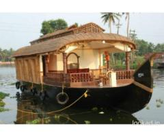 Kerala backwaters boat house