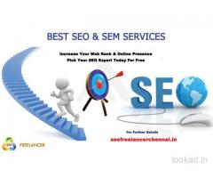 SEO Freelancer in Chennai, India – Get your website google 1st page