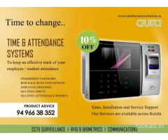 Attendance System Dealers - AURA BUSINESS SOLUTIONS | Kollam | Karunagappally | Kayamkulam