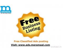 free classified ads posting in india, online free ads posting sites, classified listing
