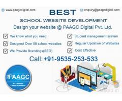 BEST SCHOOL WEBSITE DESIGNER