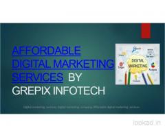 Affordable Digital Marketing Services Company in India