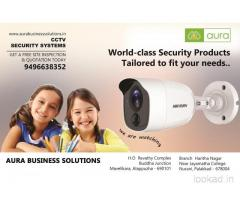Top CCTV Dealers in Palakkad - Aura Business Solutions - Coimbatore - Thrissur - Palakkad