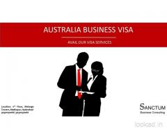 Excellent Australia Business Visa Assistance through Sanctum Consulting