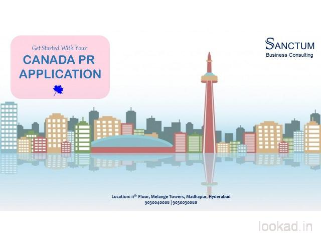 Apply for Canada Permanent Resident Visa with Sanctum Consulting
