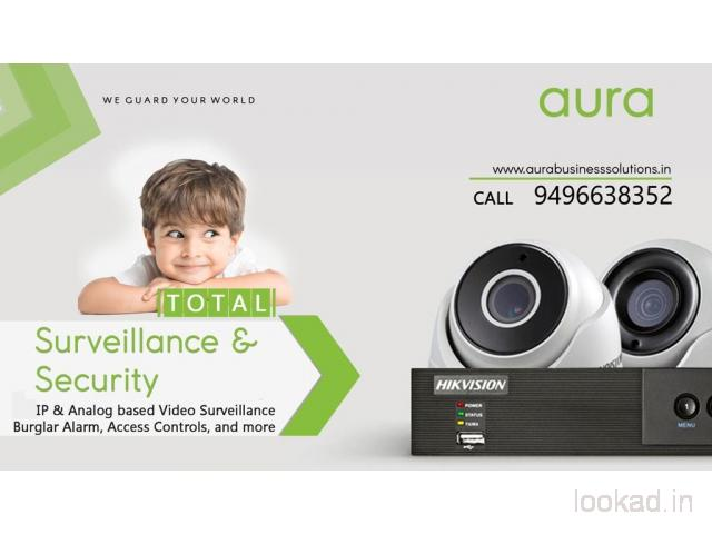 Total Security & CCTV Solutions - AURA BUSINESS SOLUTIONS-Palakkad-Mannarkkad-Ottapalam
