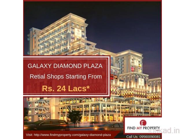 Galaxy Diamond Plaza| Commercial Property at Noida Extension| Nearby Gaur Chowk