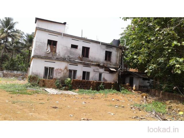 48 cents of land with building for sale in Thrikkalathoor Muvattupuzha