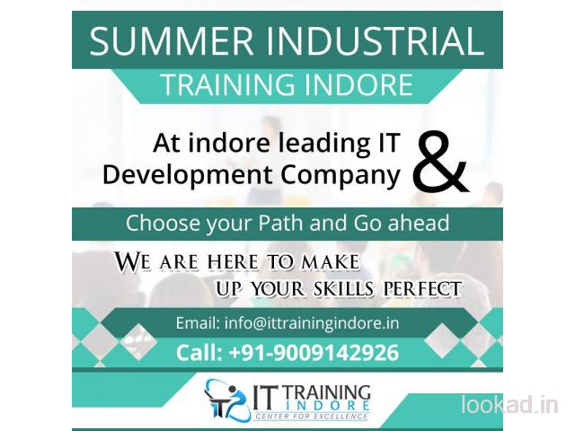 GET JOB ORIENTED SUMMER INDUSTRIAL TRAINING INDORE