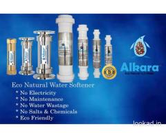 Automatic natural water softener for commercial buildings