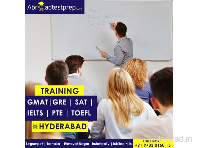 GRE, GMAT, TOEFL, IELTS, PTE and SAT Training Classes in Hyderabad