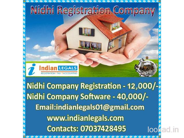 Nidhi Company Registration and Software Barabanki Only Rs.39,999