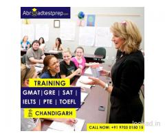 IELTS, PTE, GMAT, TOEFL, SAT and GRE Coaching at Chandigarh