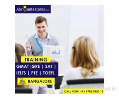 PTE, GMAT, TOEFL, GRE, IELTS and SAT Coaching at Bangalore -Abroad Test Prep
