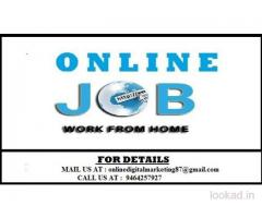 Serious people those who want to work seriously can apply for this job.