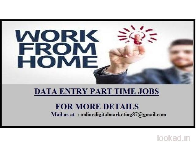 Work from home without investment .