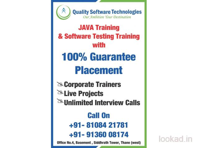 Quality Software Technologies - ST, JAVA, Python, ML Training & Placement