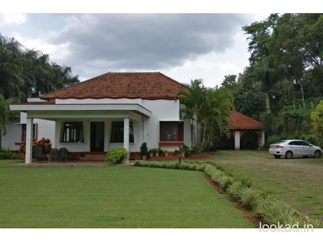 Choose the prominent Mudigere Homestay
