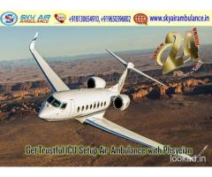 Avail Top Grade Air Ambulance Service in Indore