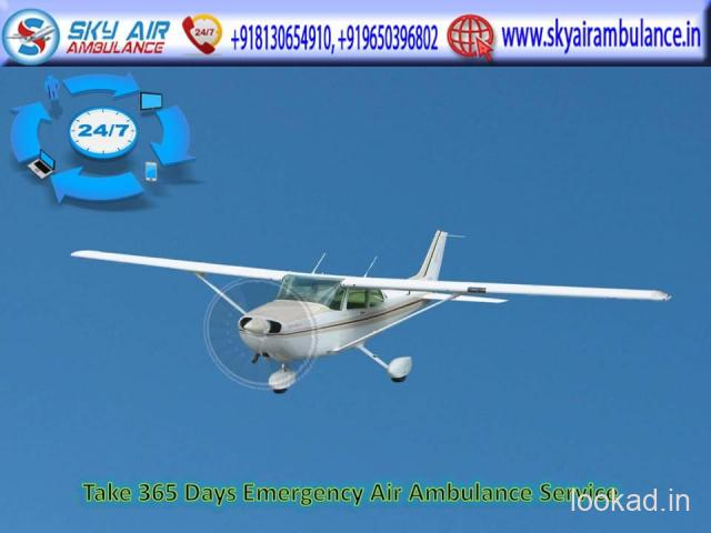 Low Fare Air Ambulance Service in Bagdogra with Unique Medical Support