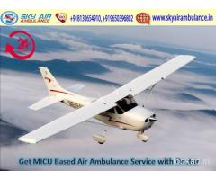 Utilize Hi-tech Charter Air Ambulance Service in Darbhanga
