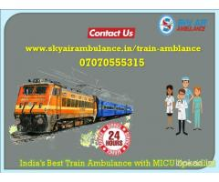 Take Train Ambulance Service in Gorakhpur