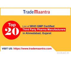 Find Top Third Party Pharma Manufacturers in Ahmedabad Gujarat