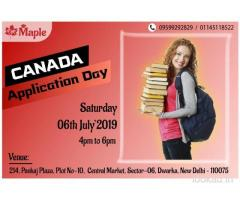 Canada Application Day 6th July 19