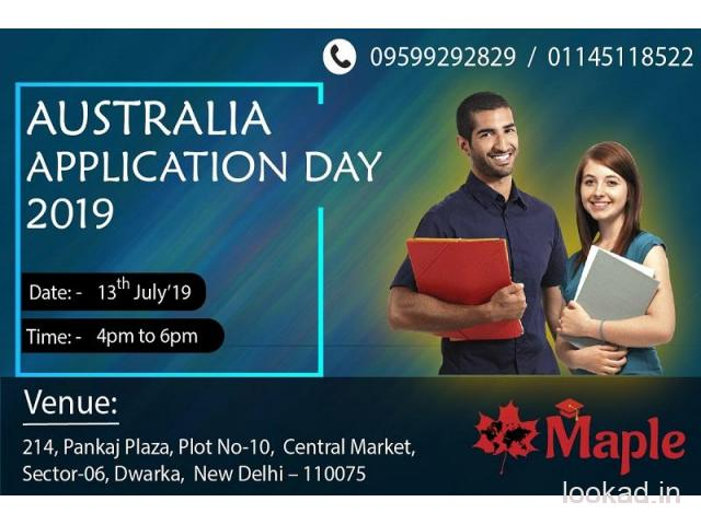 Australia Application Day - 13th July'19