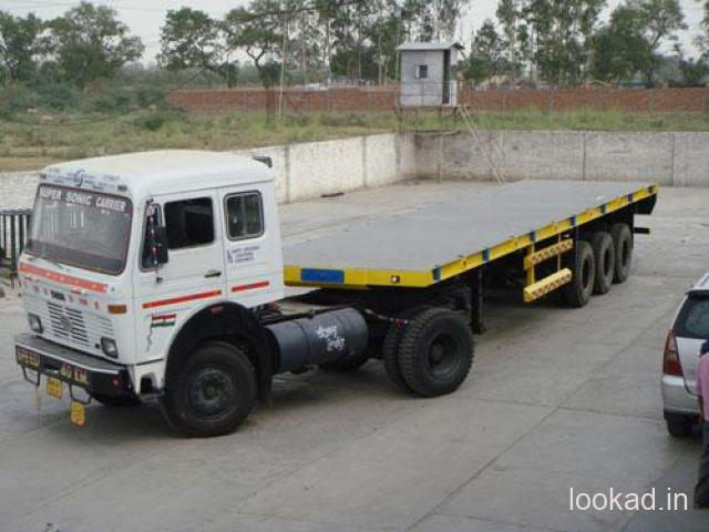 Trailer Truck Transport Company