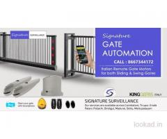 Remote Gates Coimbatore-Signature Surveillance-Automatic Gates in Coimbatore