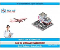 Choose Trustful Emergency Air Ambulance in Kolkata