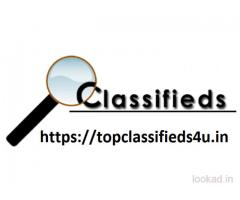 Free Classifieds Website in India – Top Classifieds 4 U