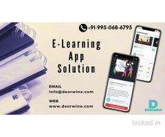E-Learning App Solution