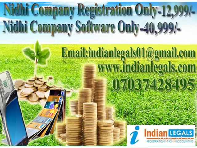 Nidhi Company Registration And Software In Nainital 7037428495