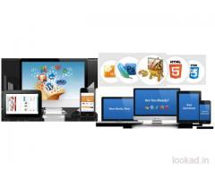 Website designing, development, hosting and maintenance services available