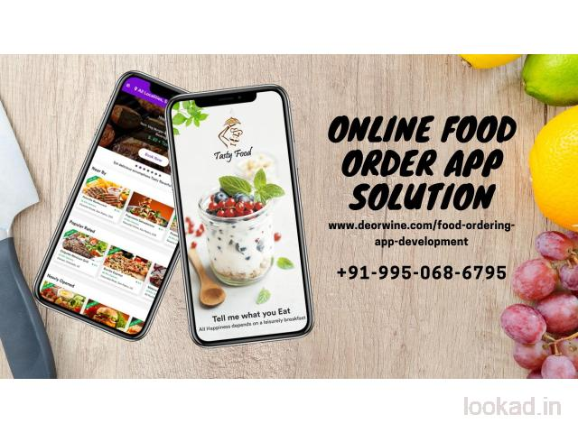 Online Food Order App Solution