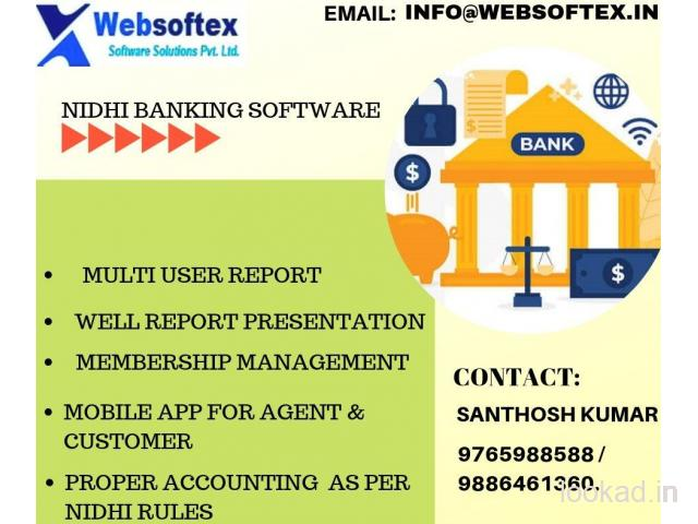 Top online Nidhi banking  software