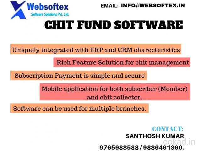 Chit Fund Online web based software