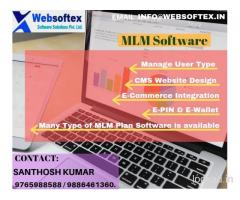Online MLM software -Websoftex Software Solution Pvt Ltd