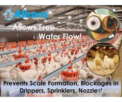 Water Softener Suppliers for Poultry in Hyderabad