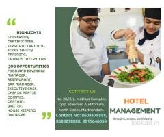 IQTS Hotel Management Institute in Marthandam